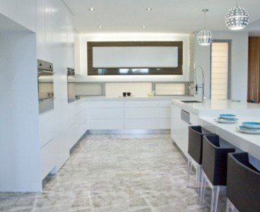 modern kitchen tiles