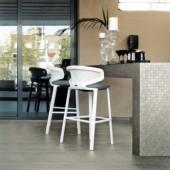 outdoor bar with tiled floor